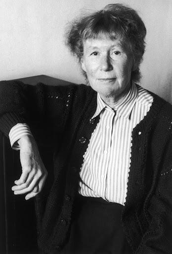 Foto de Penélope Fiztgerald, autora de La Librería