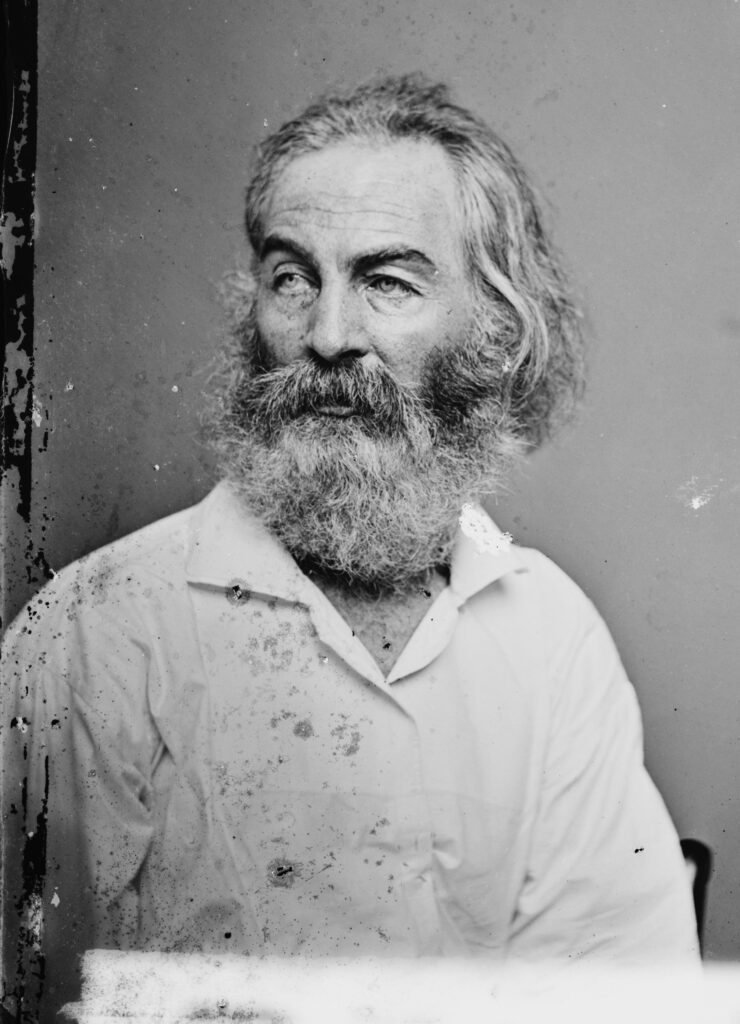 Foto de Walt Whitman. Fuente Wikipedia