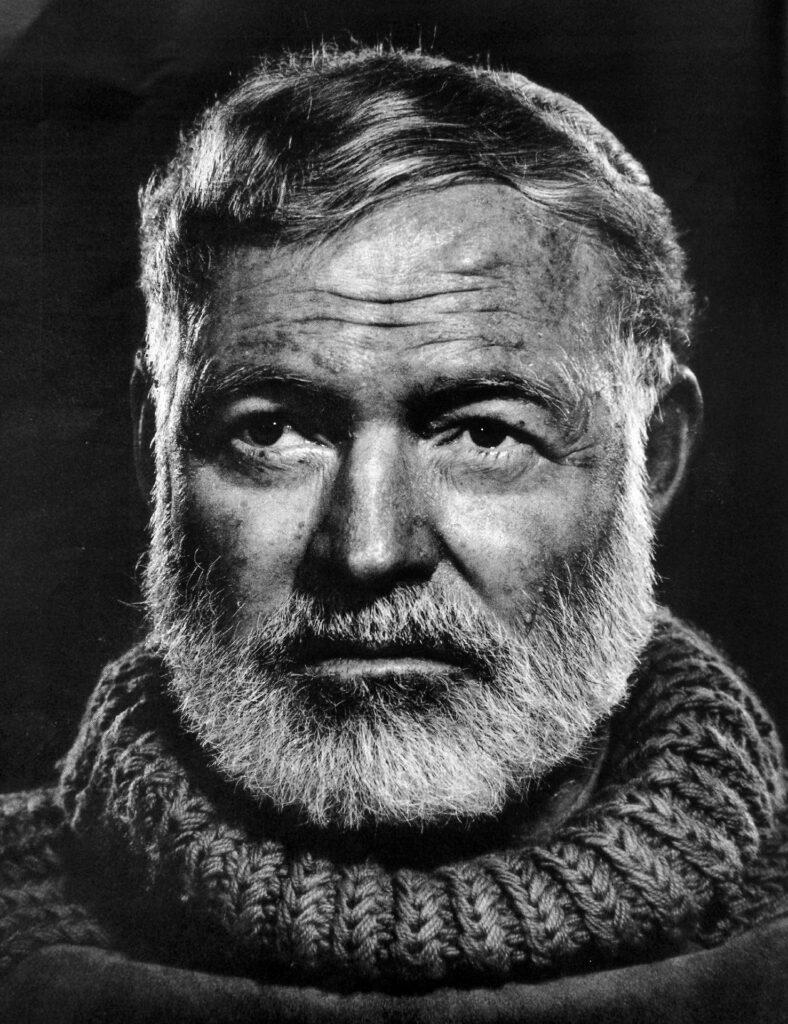 Foto de Ernest Hemingway