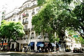 Avenida de Santa Fe, Buenos Aires. Imagen de Wikimedia