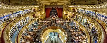 Interior de la librería Ateneo Grand Splendid